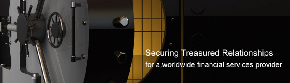 for a worldwide financial services provider