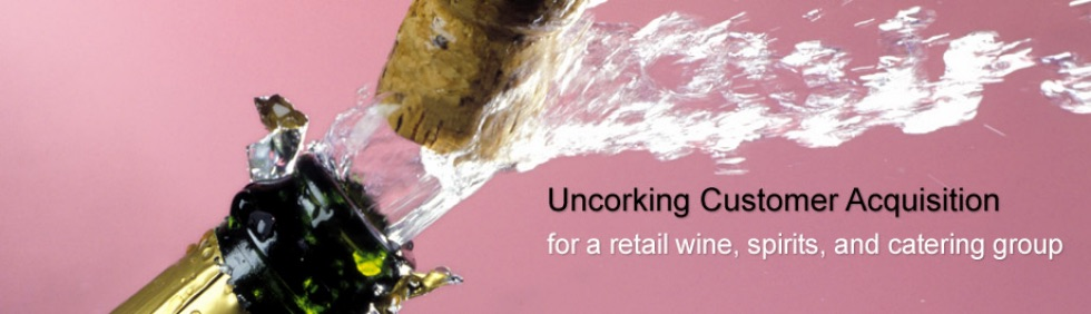 for a retail wine, spirits, and catering group
